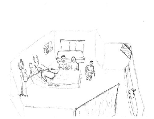 hosptial room